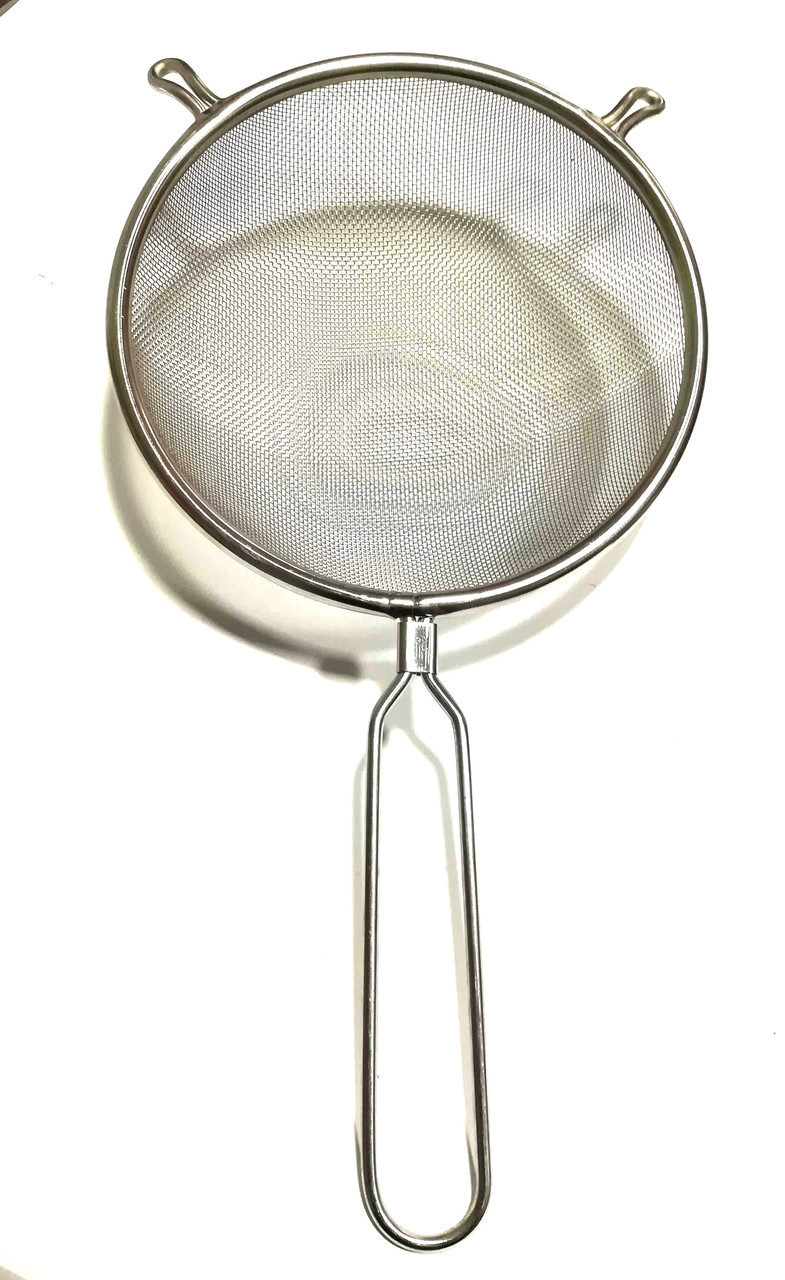 Сито кухонне з ручкою нержавіюча сталь Super 24 см