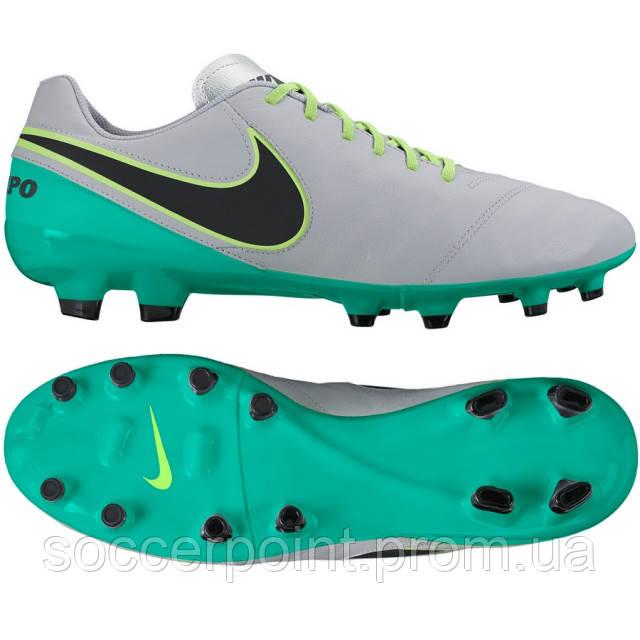 Бутсы Nike Tiempo Genio II Leather FG (819213-003) — в Категории