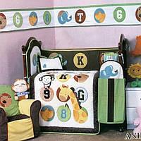 Комплект для детской кроватки Cy 966 Animals 1000100