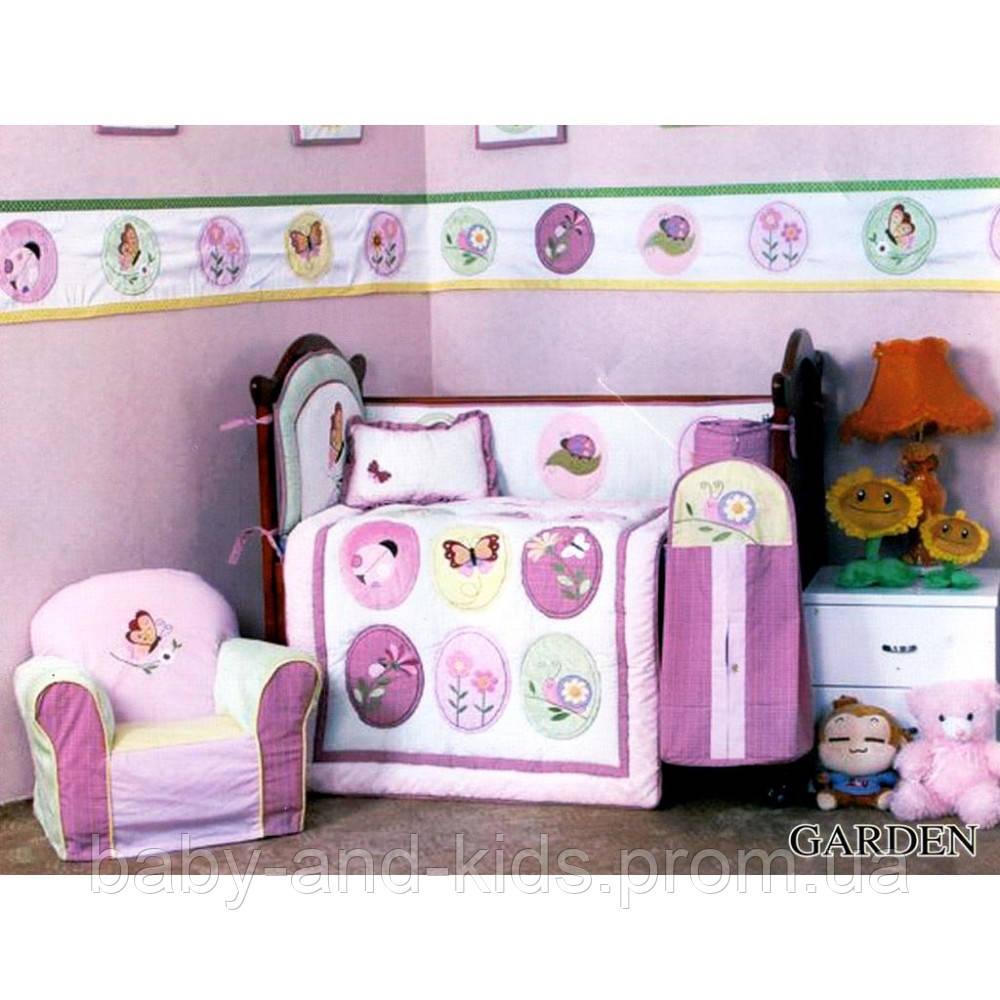 Комплект для детской кроватки Cy 969 Garden Arya 1000105 - Baby&Kids (ФОП Горбецька В.О.) в Киеве