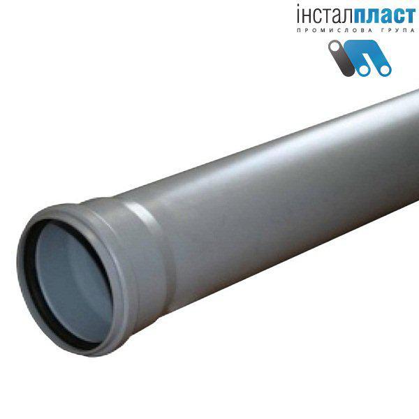 Труба д.110х2м для канализации Инсталпласт