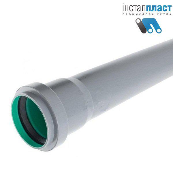 Труба трехслойная д.50х1м для канализации Инсталпласт