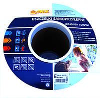 Уплотнитель  Sanok Е-профиль 9*4mm белый