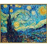Художественный набор для творчества Звездная ночь. Винсент ван Гог Schipper 9360606