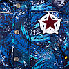 """Зимний детский комбинезон для мальчика """"Стасик"""" (синий) 2-6 лет, фото 2"""