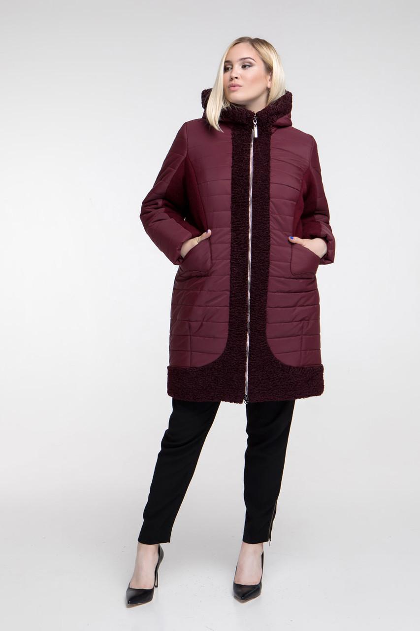 Пальто зимнее CR-648-BOR размер 48