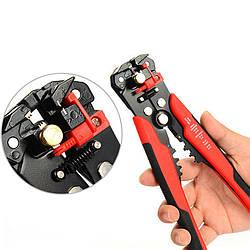 Автоматический многофункциональный стриппер с винтом микронастройки HI-04 красный