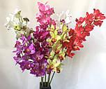 Искусственная орхидея ветка, Орхидея Цимбидиум, фото 4