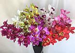 Искусственная орхидея ветка, Орхидея Цимбидиум, фото 5