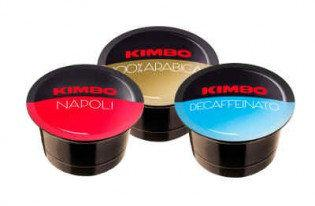 Кофе в капсулах KIMBO  Blue Decaffein 96 шт.
