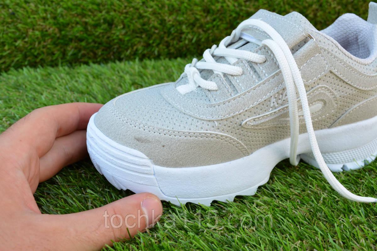 acfd51418 ... Детские подростковые кроссовки fila grey фила светло серые 31 - 35 ,  копия, ...