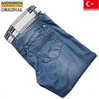 Джинсы мужские с ремнем.Летние брюки,джинсы.