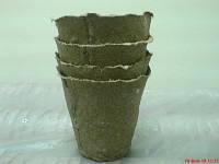 Торфяные стаканчики для рассады, РОСТОК 6х6см, 784шт/уп (Украина)