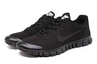 Кроссовки мужские Nike Free 3.0 V2 Black черные, фото 1