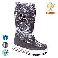 85d977c24 Дутики водонепроницаемая обувь для девочек подросток большие размеры 34-39  оптом