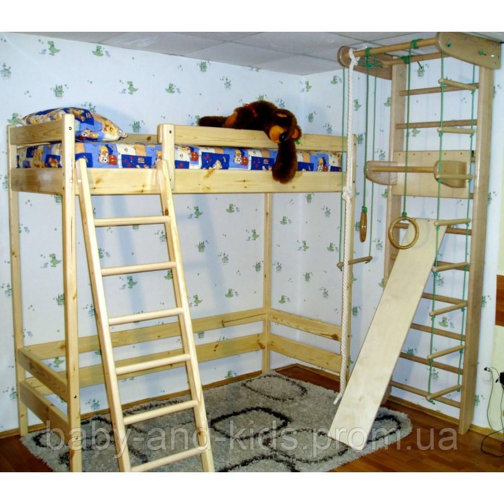 Двухъярусная кровать-чердак Ирель 187см - Baby&Kids (ФОП Горбецька В.О.) в Киеве