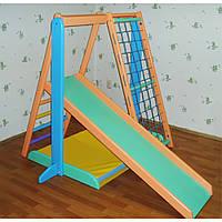 Детский спортивно-игровой комплекс цветной Малыш-2 Ирель