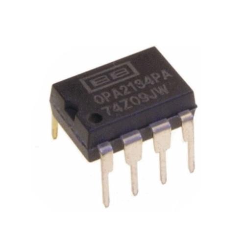 Чип OPA2134PA DIP8 операционный усилитель 2-канальный