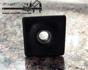 Заглушка квадратной трубы 20х20 с резьбой М6, фото 2