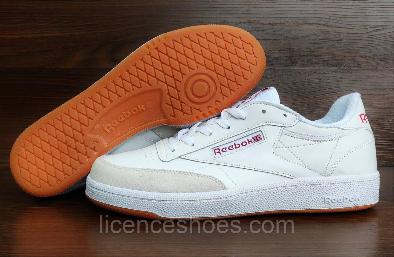 969063b8 Женские кроссовки Reebok Classic Club C85 White - Интернет магазин мужской  и женской обуви LicenceShoes в