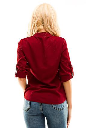 Блузка 270 бордо, фото 2