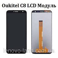 Дисплей + Сенсор Oukitel C8 Модуль, экран, фото 1