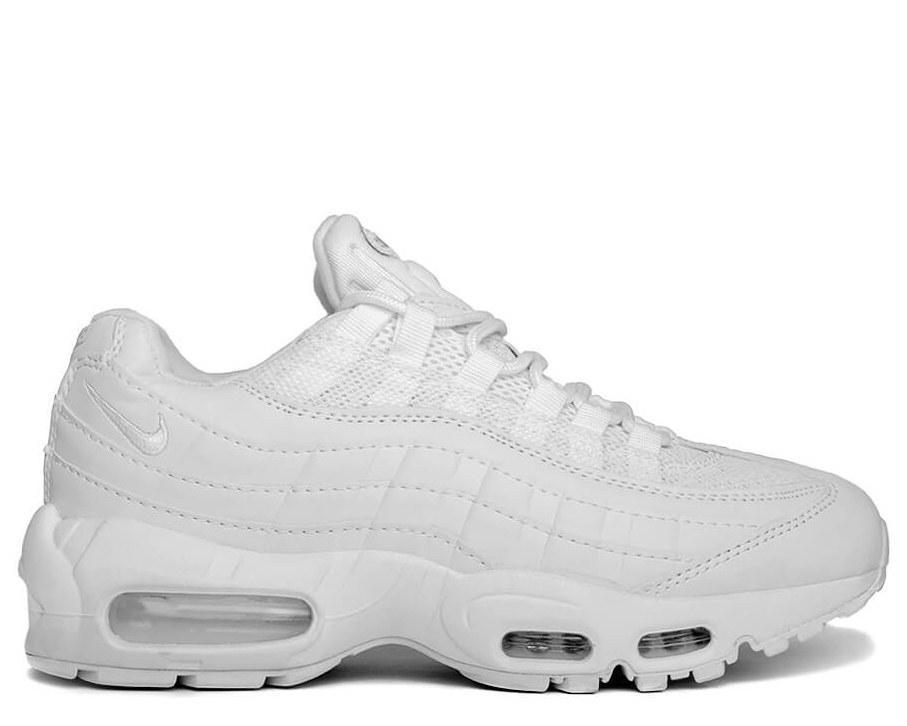 694a3042 Мужские кроссовки Nike Air Max 95 White Белые - SportBoom.com.ua - интернет