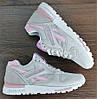 Женские кроссовки Reebok Classic GL6000 L.Grey/Pink, фото 5