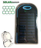 Power Bank Solar 30000 mAh + Фонарь павер банк солнечный аккумулятор (BS81)