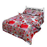 Комплект постельного белья Moorvin Двуспальный Сатин 200х215 см (SAP_215_0177)