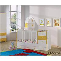 Детская кровать-трансформер Vesna LANAMI