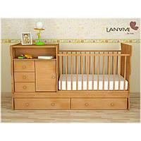 Детская кровать-трансформер 5 в 1 Nola LANAMI
