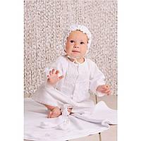 Крестильный набор рубашка для мальчика 03-00584 (без крыжмы)