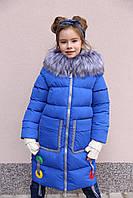 Яркое детское пальто от производителя