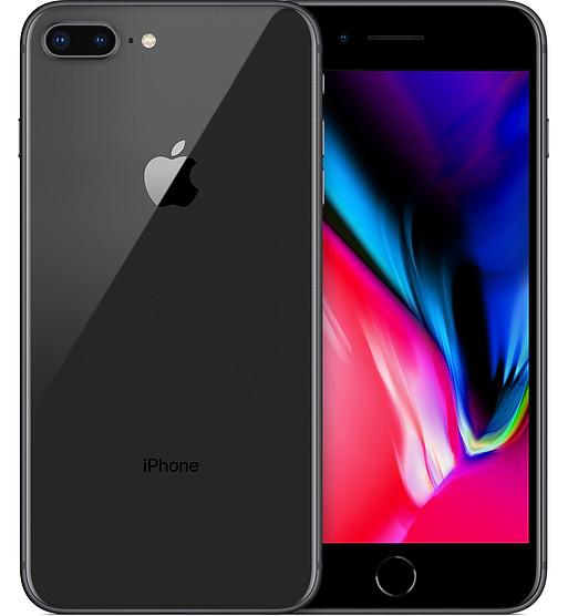 Смартфон Apple iPhone 8 Plus 64Gb Space Gray Apple A11 Bionic 2675 мАч + чехол и стекло
