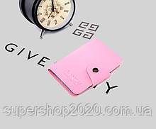Візитниця кредитница картхолдер BANZU Світло-рожевий