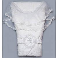 Конверт для новорожденного на выписку Angel baby (Цветы) 03-00443-1