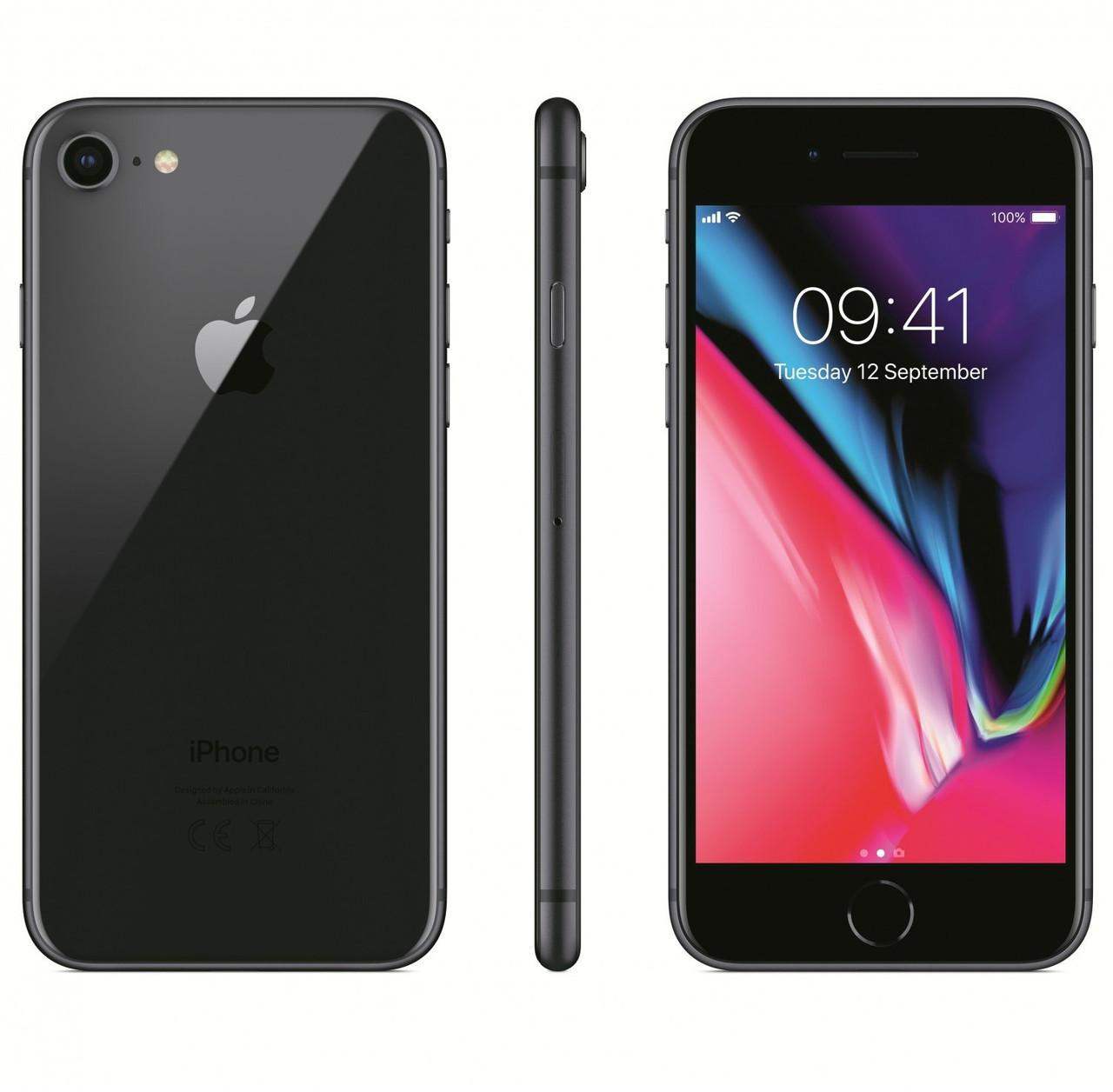 Смартфон Apple iPhone 8 64gb Space Gray Apple A11 Bionic 1820 мАч + чехол и стекло