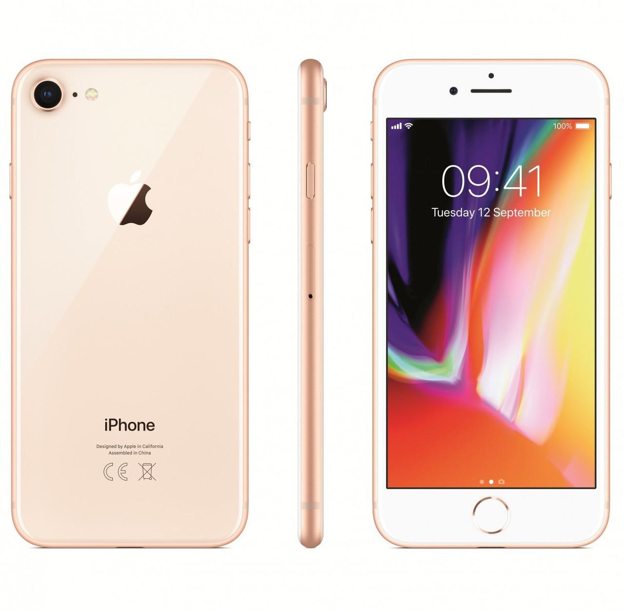 Смартфон Apple iPhone 8 64gb Gold Apple A11 Bionic 1820 мАч + чехол и стекло