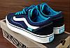 Женские синие кеды Vans OLD SKOOL Последняя пара 41-26.5см, фото 2