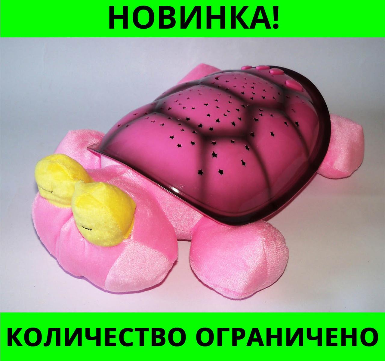 Музыкальный ночник проектор звездного неба Turtle черепаха Music Snail Twilight!Розница и Опт