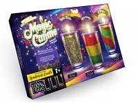 """Набор креативного творчества """"MAGIC CANDLE CRYSTAL"""" парафиновые свечи своими руками (5 штук в упаковке)"""