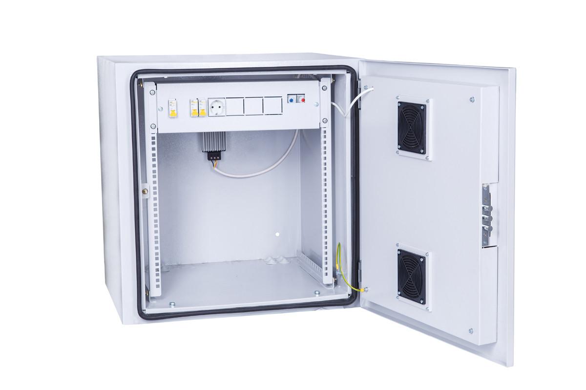 Всепогодный навесной шкаф IPCOM ШКК 9U