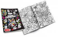 """Набор креативного творчества """"Раскраска Антистресс"""" с фломастерами (40 штук в упаковке)"""