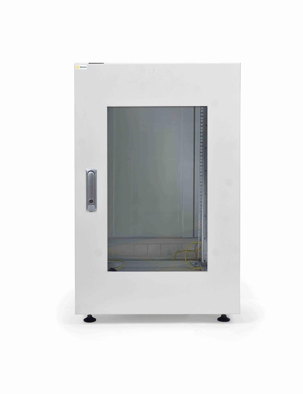 Шкаф серверный IPCOM С-24U-06-10-ДС-ПГ-1-7035