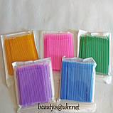 Микробраши, фиолетовые,100 шт, 2 мм, мягкая упаковка., фото 2