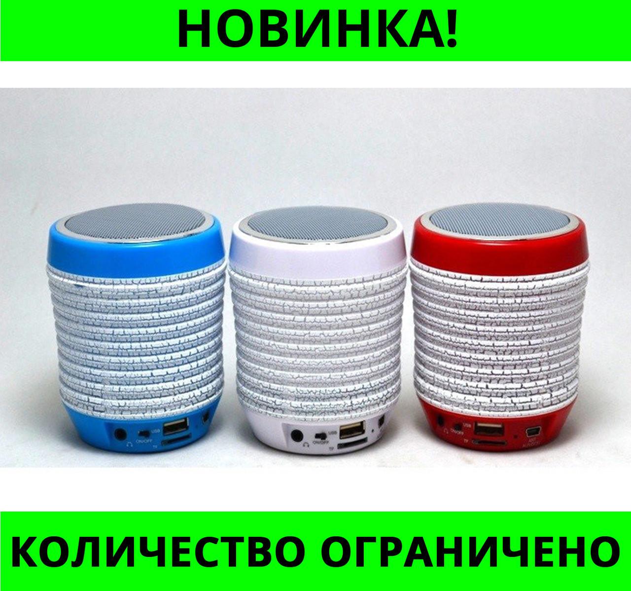 Портативная колонка Bluetooth WS-1805 со светомузыкой!Розница и Опт
