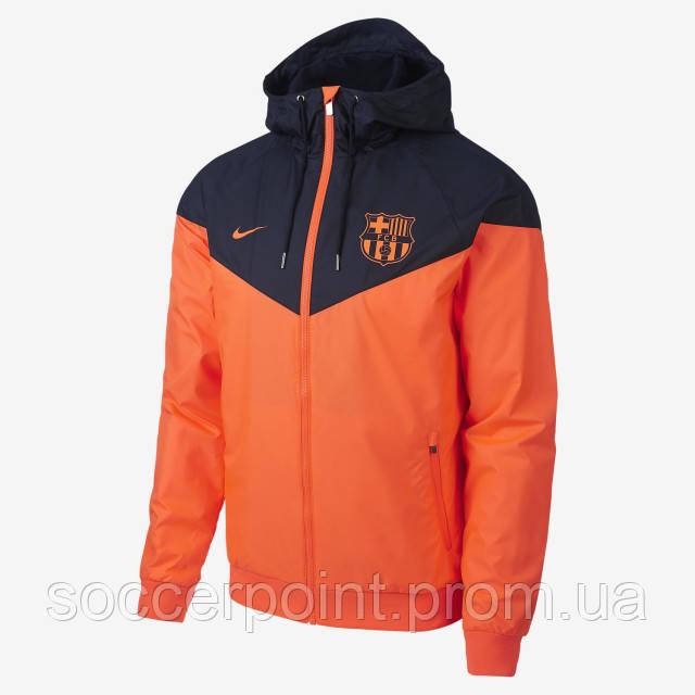 Купить Ветровка Nike FC Barcelona Windrunner (886817-809) в c ... d7b07758fedde