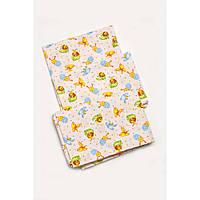 Комплект постельного белья в кроватку для новорожденных (девочка) 03-00485-0