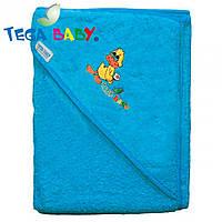 Полотенце махровое с капюшеном Tega Baby TG-071 Blue